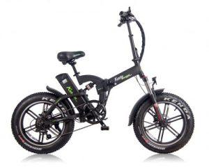 אופניים חשמליים קל אופן מאסטר שיכוך מלא 48V