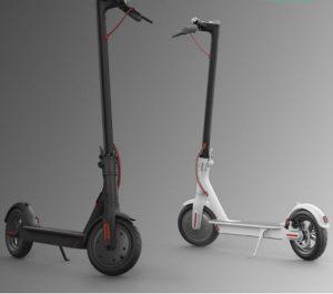 קורקינט חשמלי שיומי מתקפל דגם Mi Electric scooter שחור