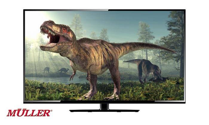 """טלווזיה """"55 אינץ LED 4K SMART TV Muller דגם MAGIC4K"""