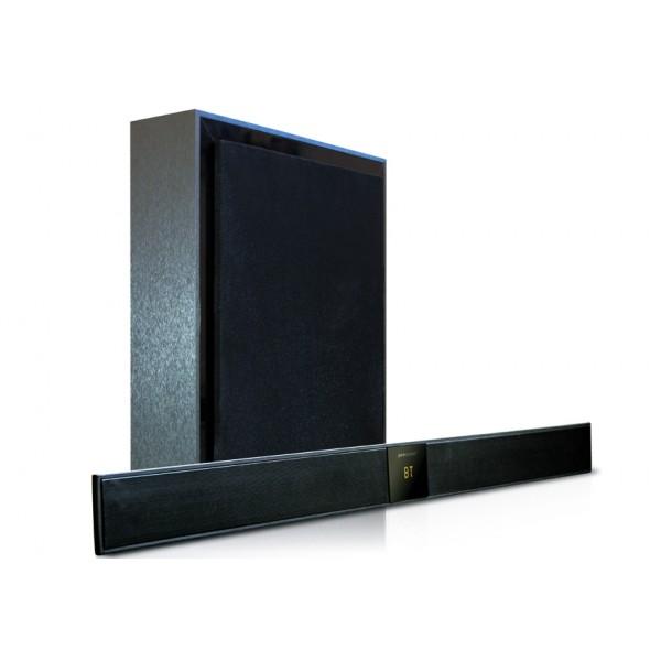 מקרן קול בלוטות' דק במיוחד וסאבוופר אלחוטי דגם SBW-220 Pure Acoustics